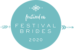 as featured in festival brides