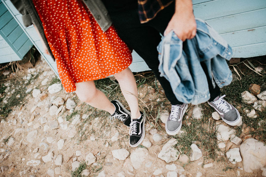 vans shoes and denim jackets