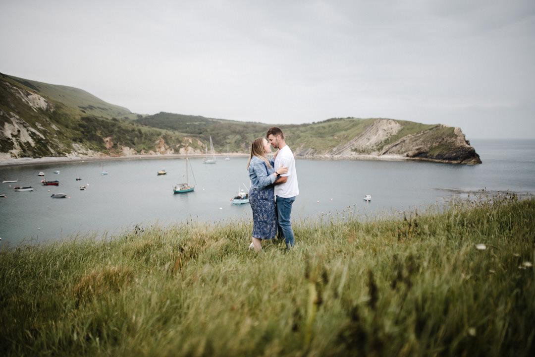 Lulworth Cove Couple Photoshoot